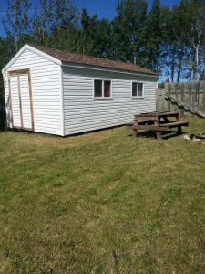 Bebault Back Yard Shed