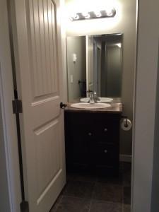 Crescent View Bathroom Door Open