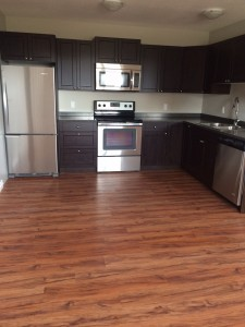 Juniper Fourplex Lower Kitchen
