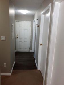 Hallway looking at the Front Door