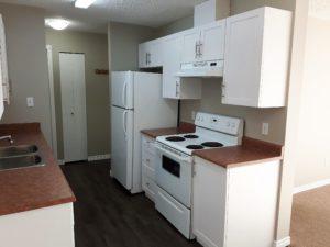 Kitchen (stove and fridge side)